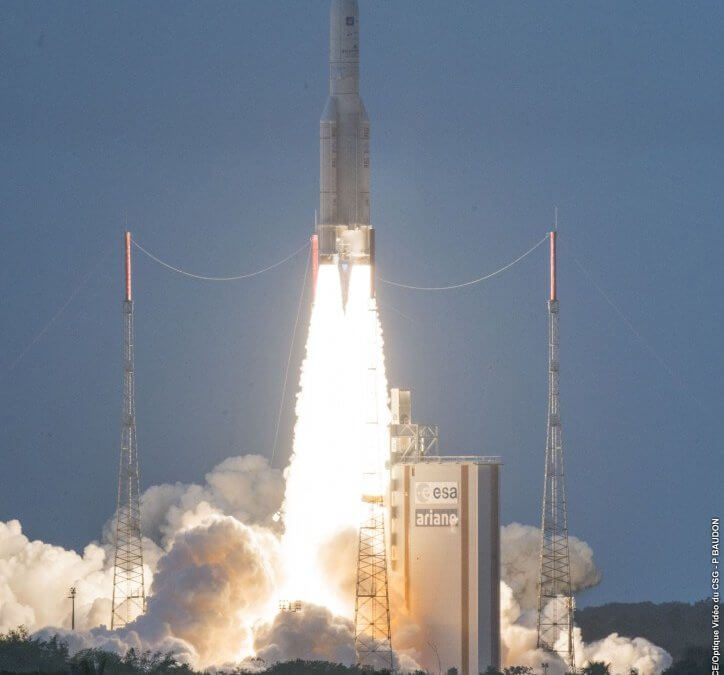 Arianespace back in play as French Guiana strike/protests end and as it gets Horizons 3e launch order