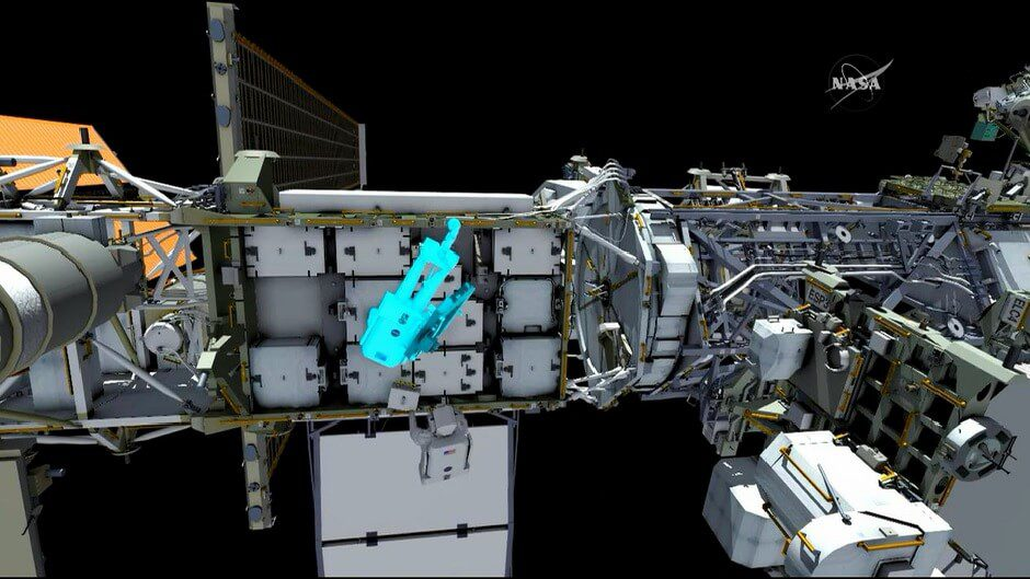 Astronauts make second battery change out spacewalk