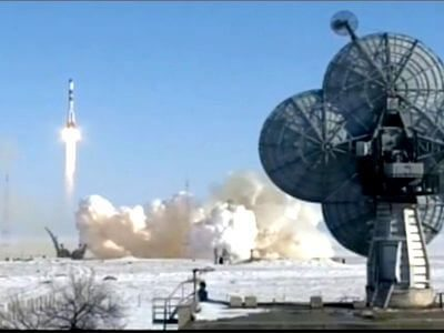 Last Soyuz-U launches cargo craft to ISS from snow covered Baikonur Cosmodrome (Updated)