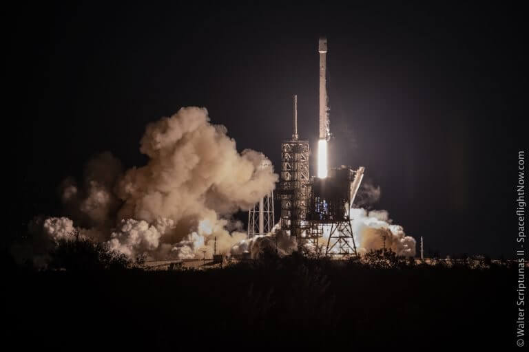 After battling high wind delays Falcon 9 manages to launch telecomms satellite EchoStar 23