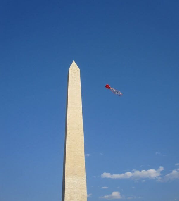On a lighter note: Letter from America from your red-loving Washington correspondent