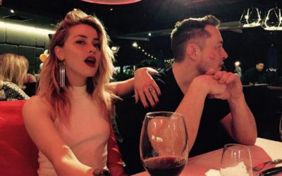 On a lighter space romantic note: It's Forever Amber…as Elon Musk and Amber Heard confirm they are an item