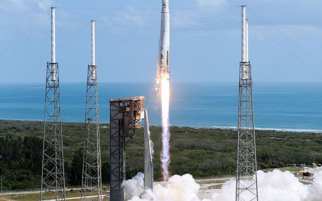 """Last of the """"stand in"""" Atlas launches lofts Cygnus OA-7 for Orbital ATK and NASA"""