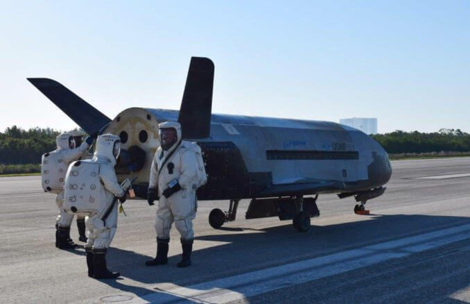 X-37B to fly on SpaceX Falcon 9