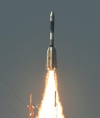 GSLV 2 launches GSAT 9 (Corrected)