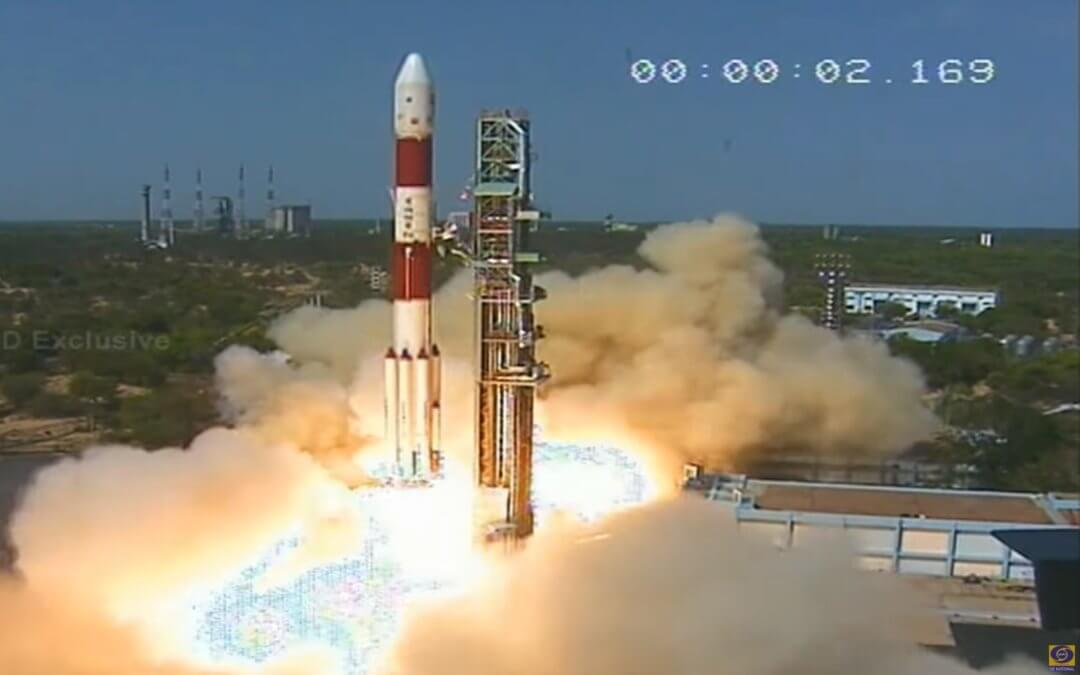 "Indian PSLV conducts 40th launch carrying a ""modest"" 31 satellites into LEO this time"