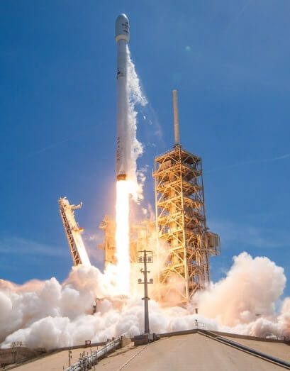 Falcon 9 reuses first stage in launch of Bulgariasat 1 comsat