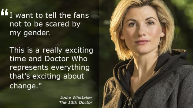 Doctor Who becomes a female timelord…to the anger of some traditionalists