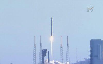Atlas V rocket carries TDRS-M relay satellite to geosynchronous orbit