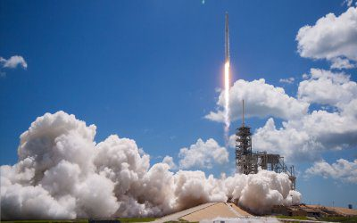 SpaceX launches DRAGON CRS-12 cargo mission to ISS (Updated)