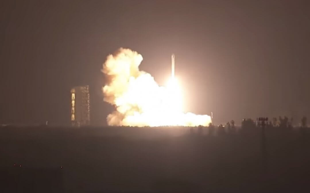 Peacekeeper missile-derived five-stage Minotaur IV launches ORS-5 situational awareness test satellite for the US military as well as three cubesats