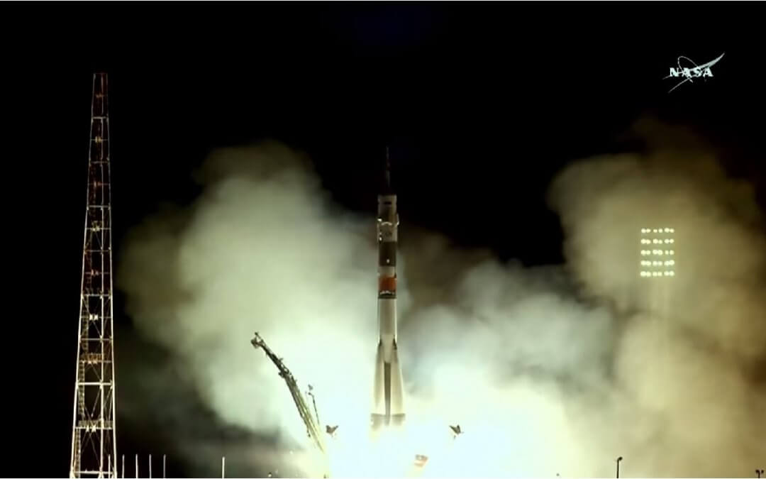 ISS Activity: Soyuz launch restores ISS crew to six and DRAGON capsule returns to Earth