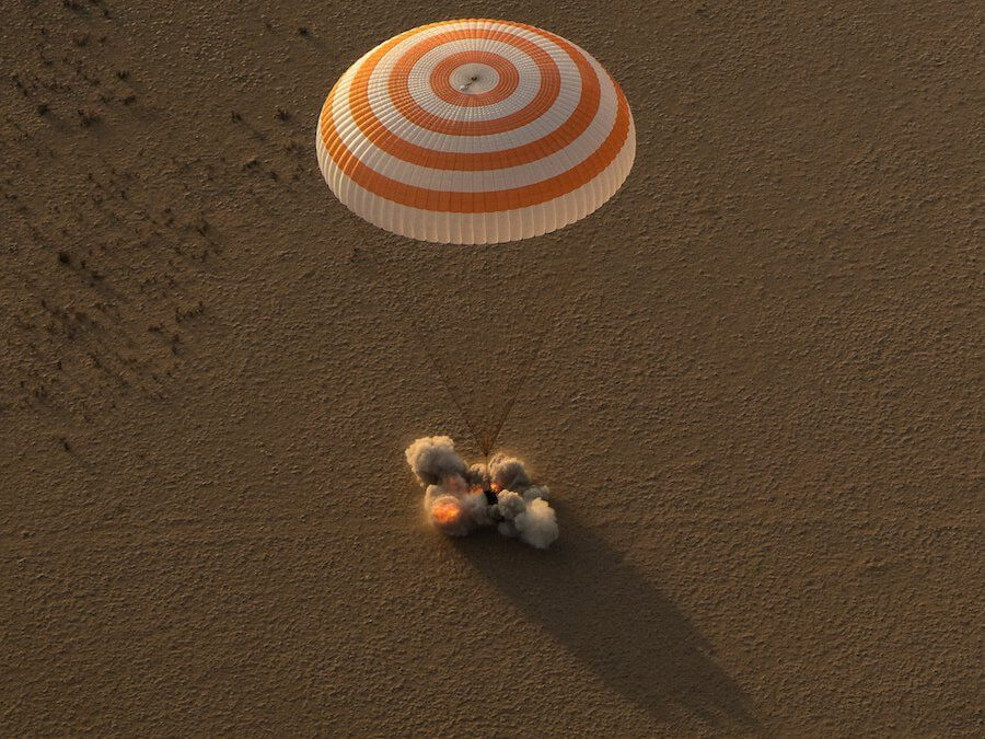 Soyuz MS-04 brings back crew including long stayer Dr Peggy Whitson from ISS safely