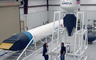 Bad month for ARCA Space as its State funding is criticised and its CEO is arrested for fraud