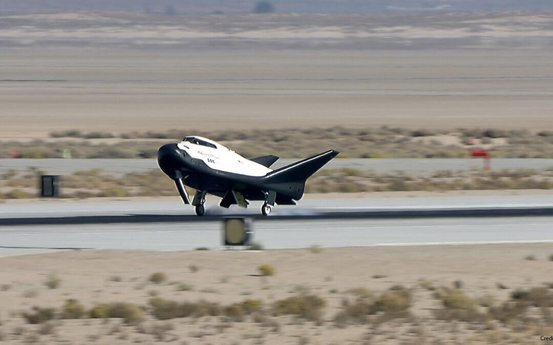 Dream Chaser as successful aerodynamic glide and landing test