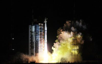 Chinese Long March 4C launches weather sat and Head maritime tracking sat