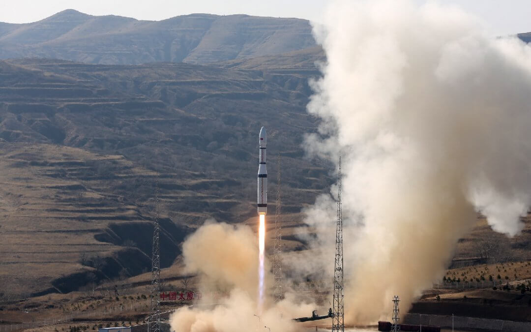 Chinese Long March-6 launches three commercial Earth observation satellites