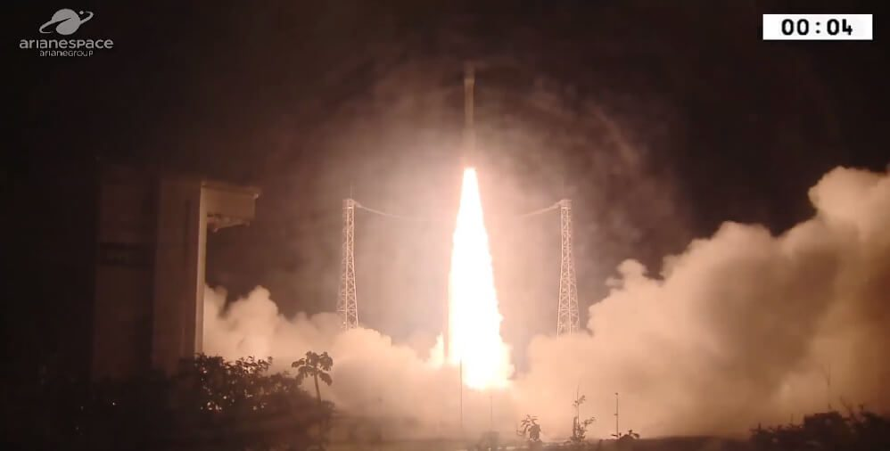 Vega launches Mohammed IV-A…the first of two high-resolution imaging satellites for Morocco