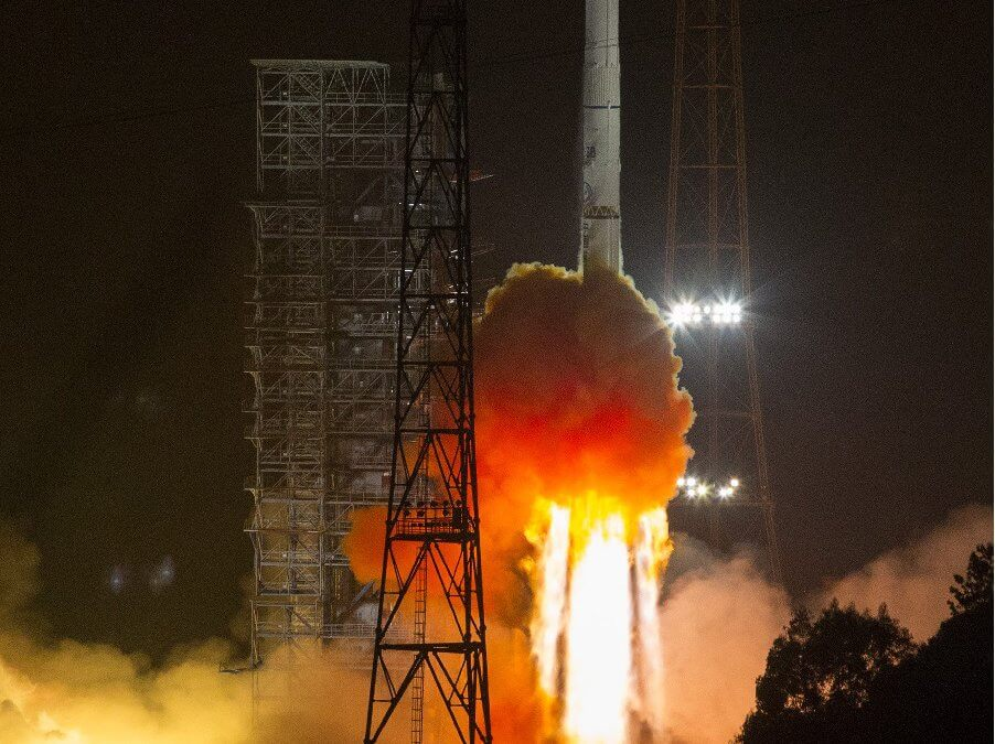China launches first Algerian GEO comms satellite