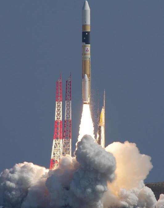 Japanese H-2A rocket carries military radar satellite into orbit