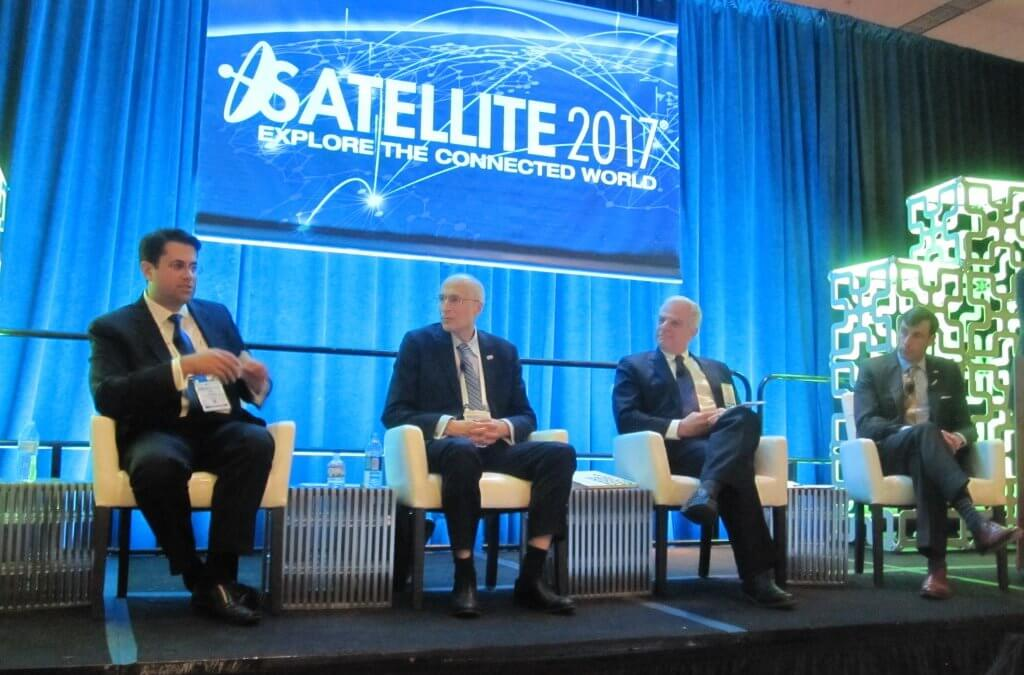 "Satellite 2017:  Connectivity to the ""Internet of Things"" is seen as key driver for future satellite traffic"