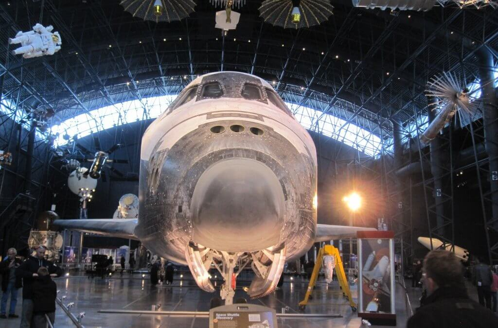 """Review: Udvar-Hazy Air and Space Museum and its Discovery Space Shuttle is the """"real McCoy"""""""