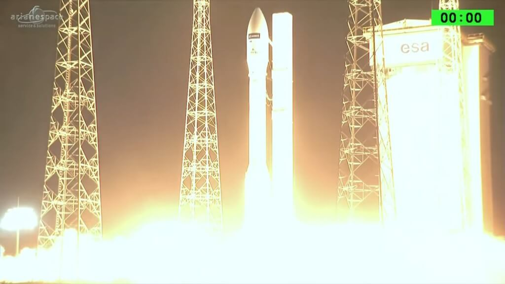 Vega light launcher completes ninth launch