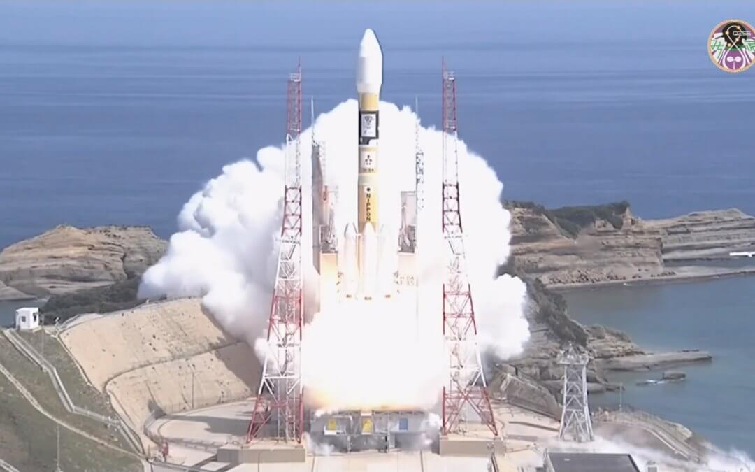 Japan is one step closer to a completed QZS System after the launch of MICHIBIKI 3