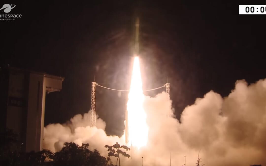 Italian Vega light launcher hits double figures as it completes its 10th launch attempt