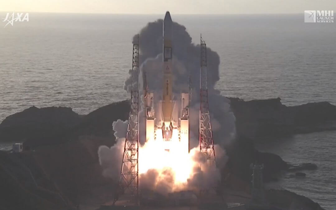 Japan completes third QZSS launch of the year to complete their GPS augmentation fleet