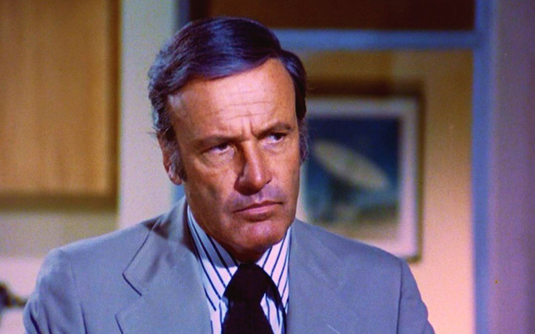 "On a sadder note: Six million dollar man's boss ""Oscar Goldman"" actor Richard Anderson passes away – as does our old boss Andrew Gleadow"