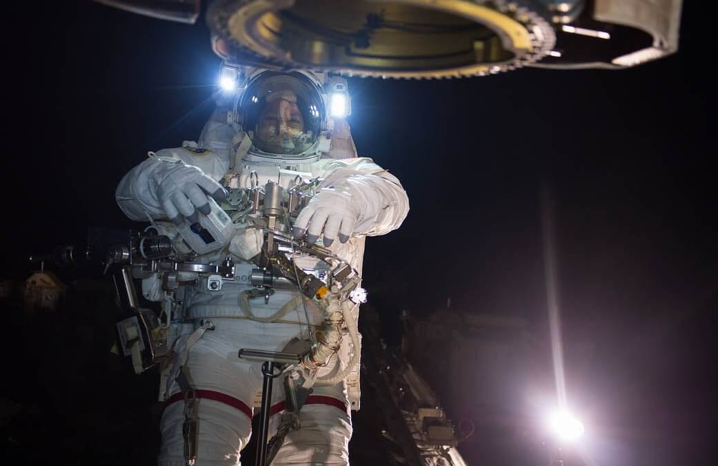 Spacewalkers work on ISS robot arm…then go out again five days later for more minor work (Updated)