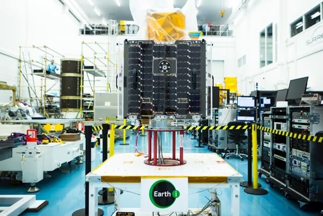 Earth-i makes construction order to SSTL for five sats
