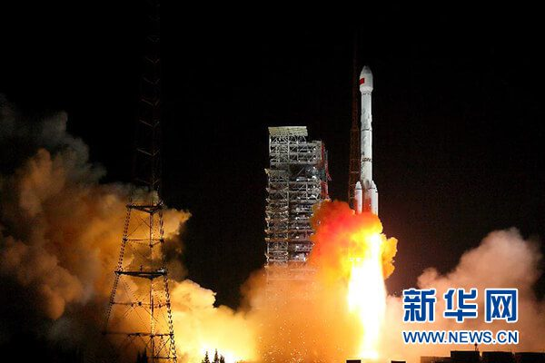 Long March 3B launches two Beidou 3 navsats from Xichang