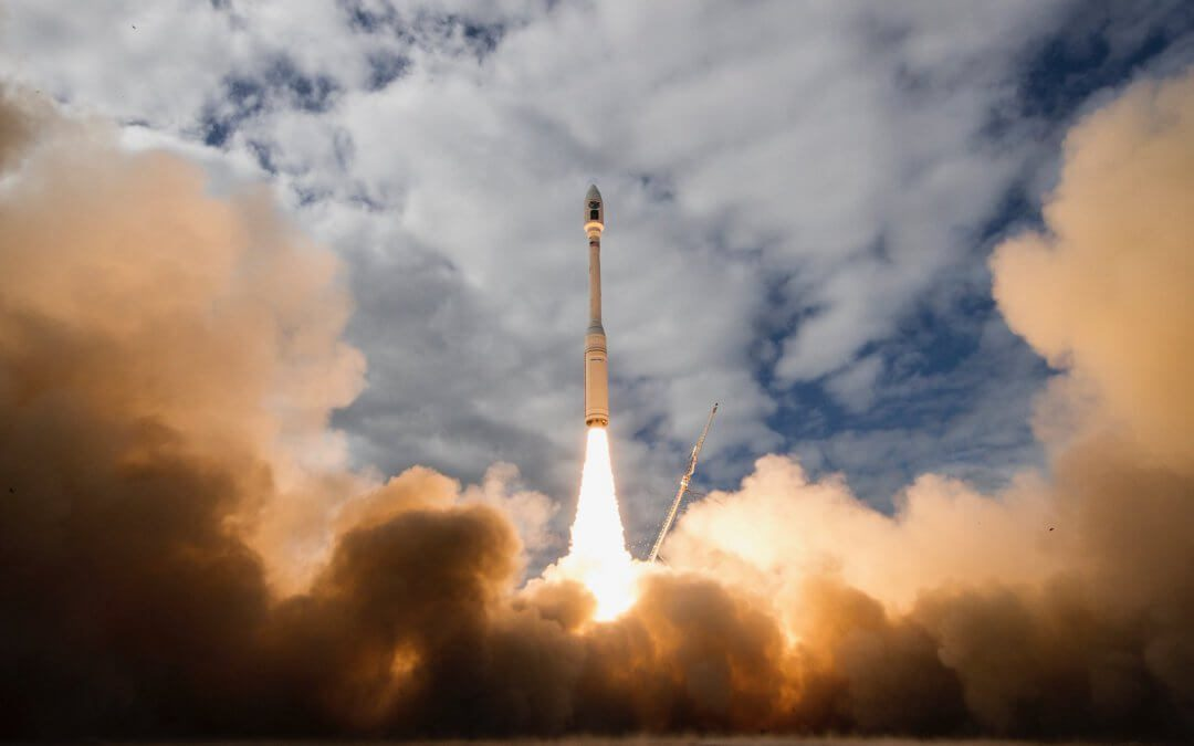 Minotaur C launches ten small commercial satellites as it is allowed to