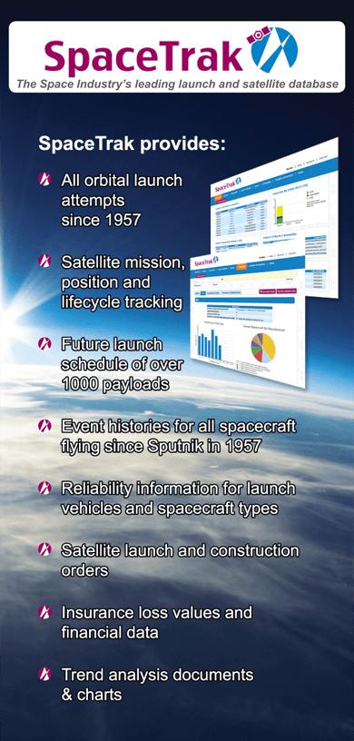 SpaceTrak Launch and Satellite Database