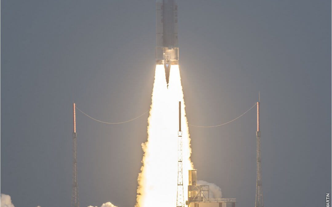 Arianespace completes second Galileo launch using workhorse Ariane 5 rocket