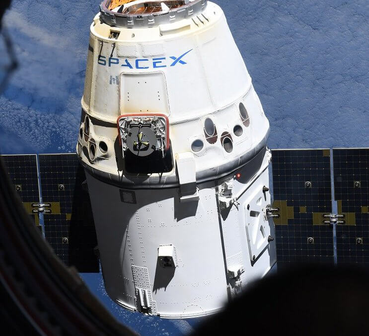 """""""Reused capsule"""" Dragon CRS-13 is released from ISS and splashes down in Pacific"""