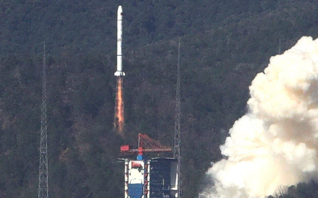China completes fifth launch in January carrying three Yaogan 30-04