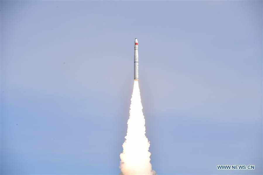 China launches two Jilin Earth video satellites from Jiuquan