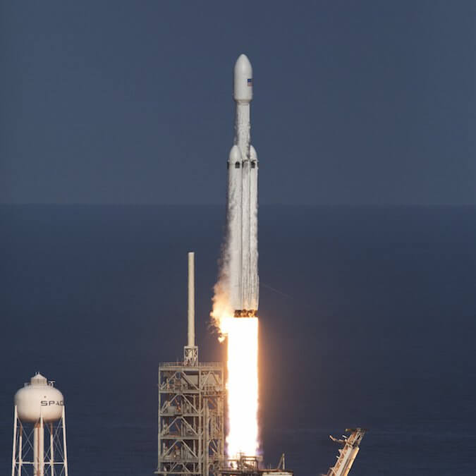 Swedish start-up Ovzon books launch on Falcon Heavy