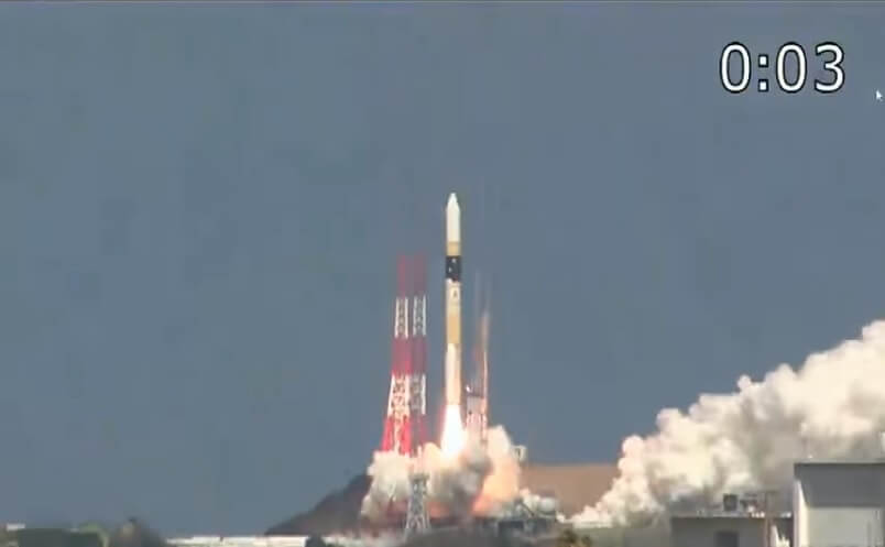 Japan uses H-2A rocket to launch third-generation optical reconnaissance satellite