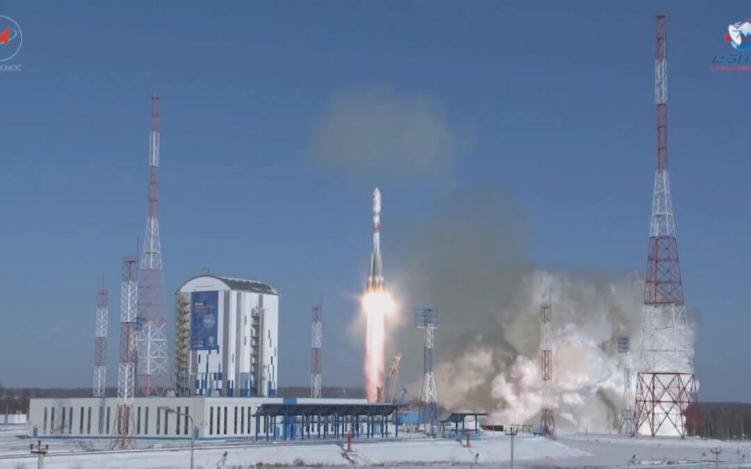 Soyuz makes successful launch return at Vostochny carrying Kanopus satellite pair and nine others to orbit