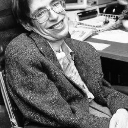 On a sadder note: Eminent Physicist and an example to many Professor Stephen Hawking passes away