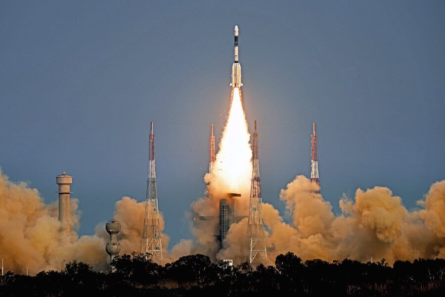 GSLV 2 with new High Thrust Vikas second stage engine delivers GSAT-6A to orbit…but then the satellite fails