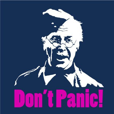 On a lighter note: Don't panic! But your correspondent could soon be in the Home Guard