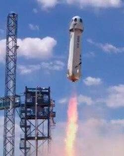 "Blue Origin makes successful ""spaceflight"" with Mk II New Shepard"