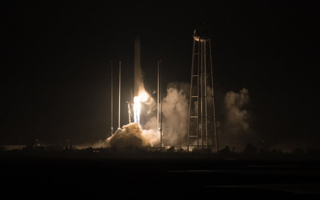 Antares launches CYGNUS OA-9 freighter on way to ISS (Updated)