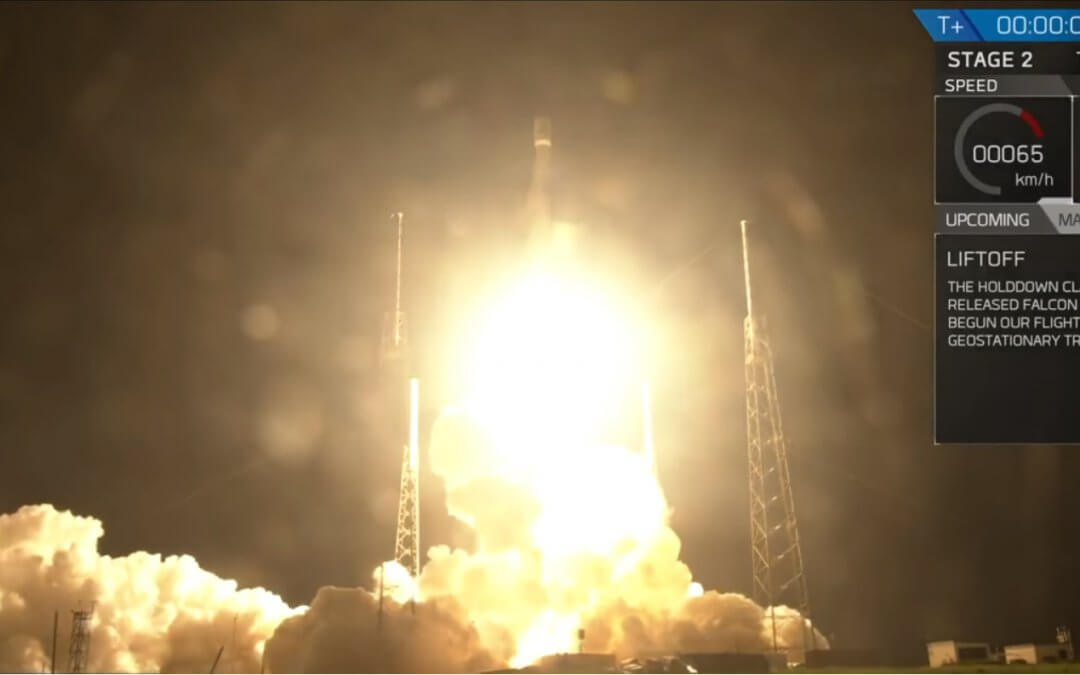 "SpaceX launches heavy ""all-electric"" SES-12 to GTO on a mixed Block Falcon 9"