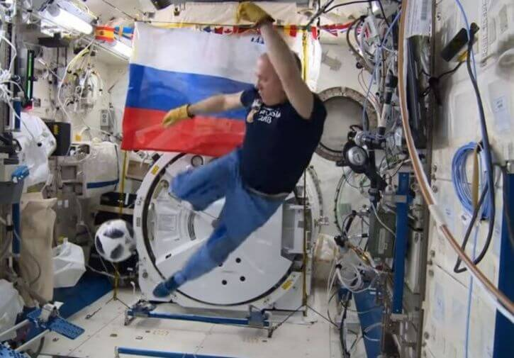 Analysis: Russian cosmonauts test out FIFA World Cup Match ball in orbit…but who will actually win? Toddy's Tip(s) here